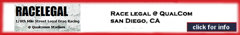 San Diego, CA - Qualcom Stadium 1/8 Mile Drags